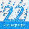 22 let čestitke