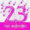 23 rojstni dan danes