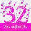 32 rojstni dan