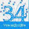 34 rojstni dan