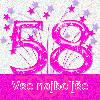 58 rojstni dan