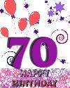 70 rojstni dan