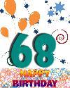 68 let rojstni dan