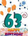 63 let rojstni dan