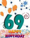 69 let rojstni dan