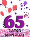 65 rojstni dan