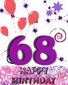 68 rojstni dan