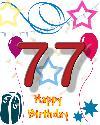 77 rojstni dan