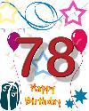 78 rojstni dan