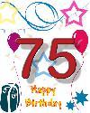 75 rojstni dan