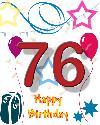 76 rojstni dan
