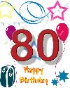 80 rojstni dan