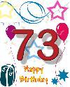 73 rojstni dan
