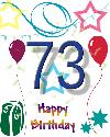73 let rojstni dan