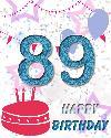 89 let rojstni dan