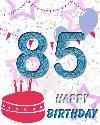 85 let rojstni dan