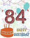 84 rojstni dan