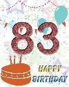 83 rojstni dan