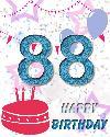 88 let rojstni dan