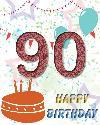 90 rojstni dan