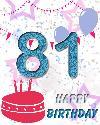81 let rojstni dan