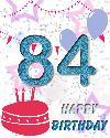 84 let rojstni dan