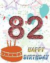 82 rojstni dan