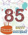 85 rojstni dan