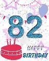 82 let rojstni dan