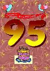 95 rojstni dan