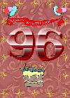 96 rojstni dan