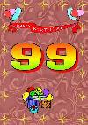 99 rojstni dan