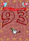 93 rojstni dan