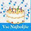 torta za tvoj rojstni dan sveče