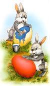 velikonočna zajčka